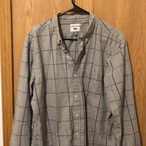 Old Navy men's large button down collared shirt